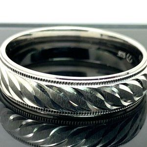 Other - Wedding Band Men's Ring Sterling .925 6mm Size 11